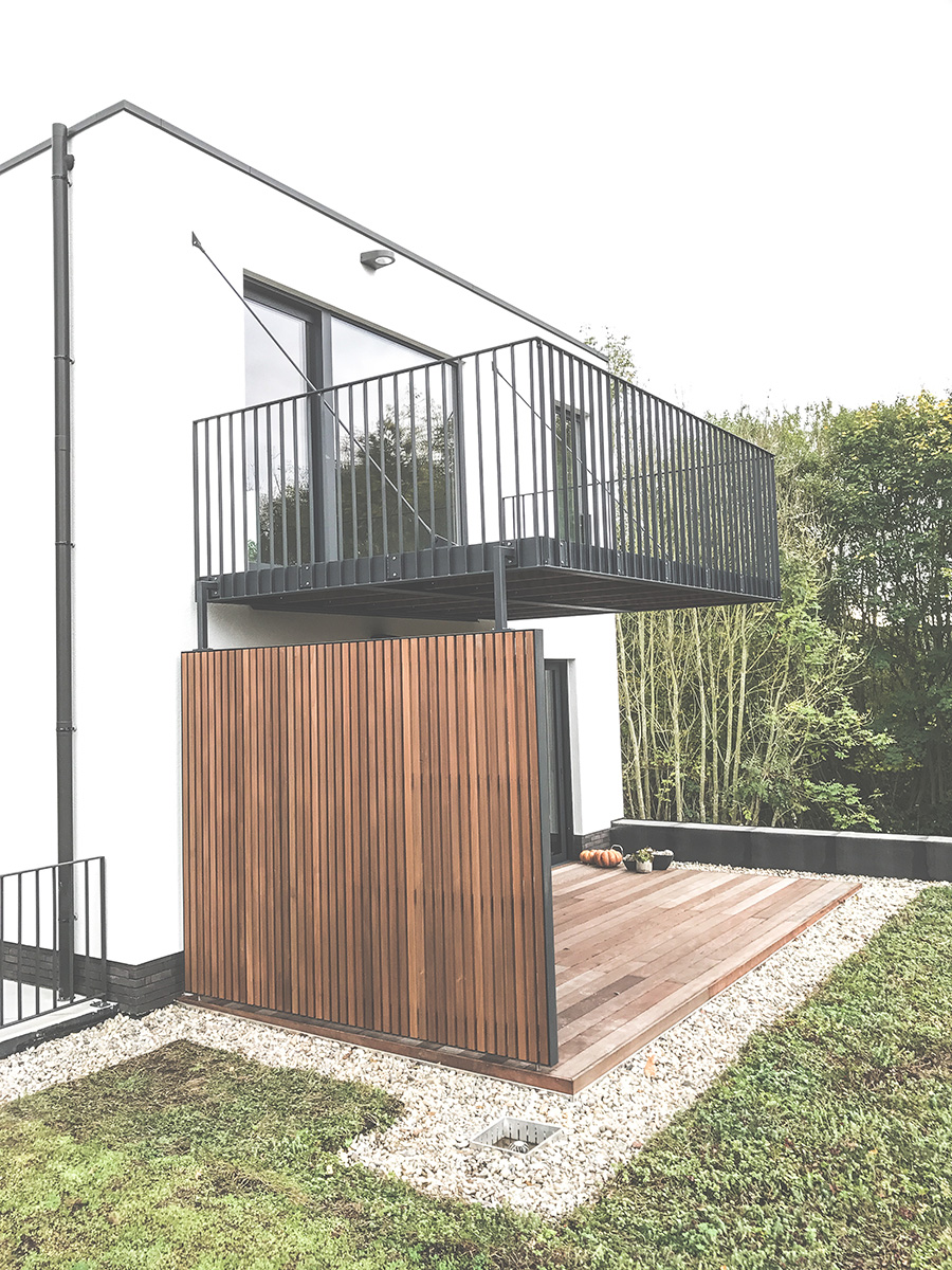 O'Wood - Promotion immobilière - Les Verrières - Balcon