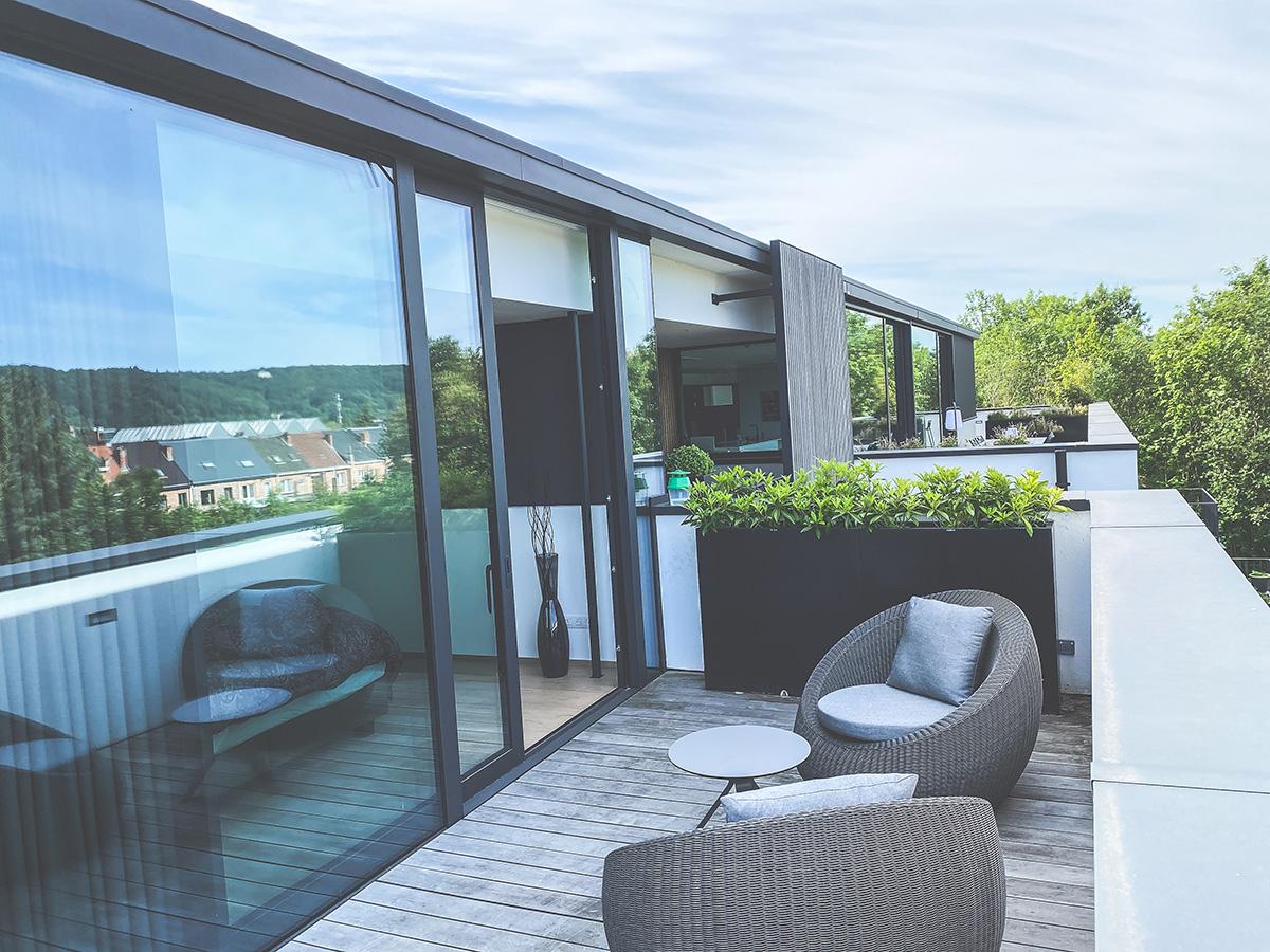 O'Wood - Promotion immobilière - Les Verrières - Penthouse - Terrasse