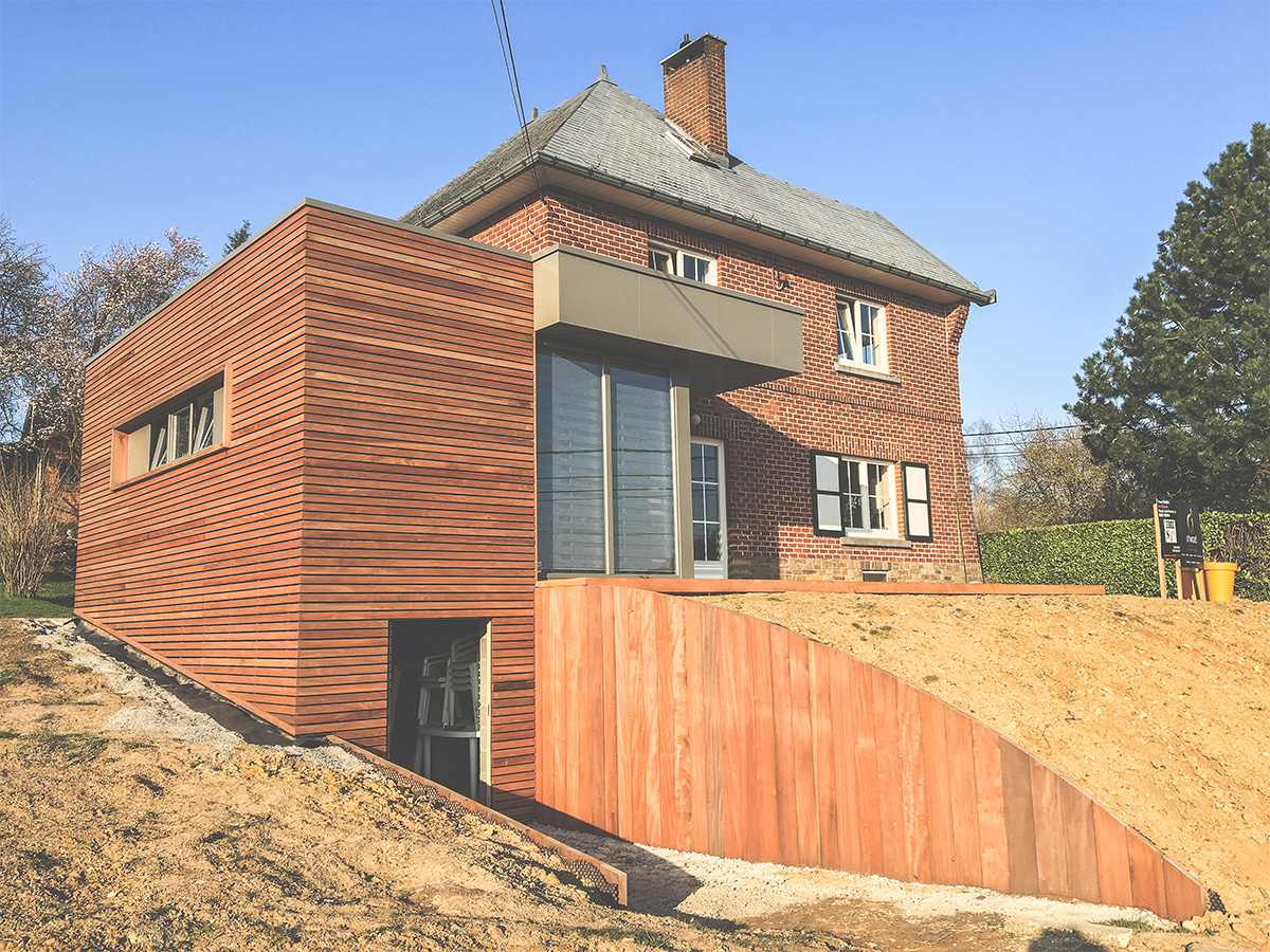 Extension - Vedrin - Veranda - Photo1 - O'Wood Constructions