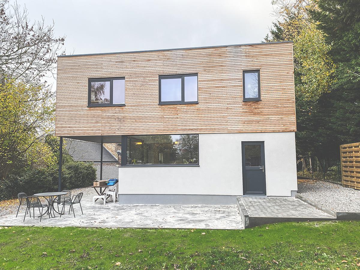 Construction d'une Extension - Vezin - Photo1 - O'Wood Constructions