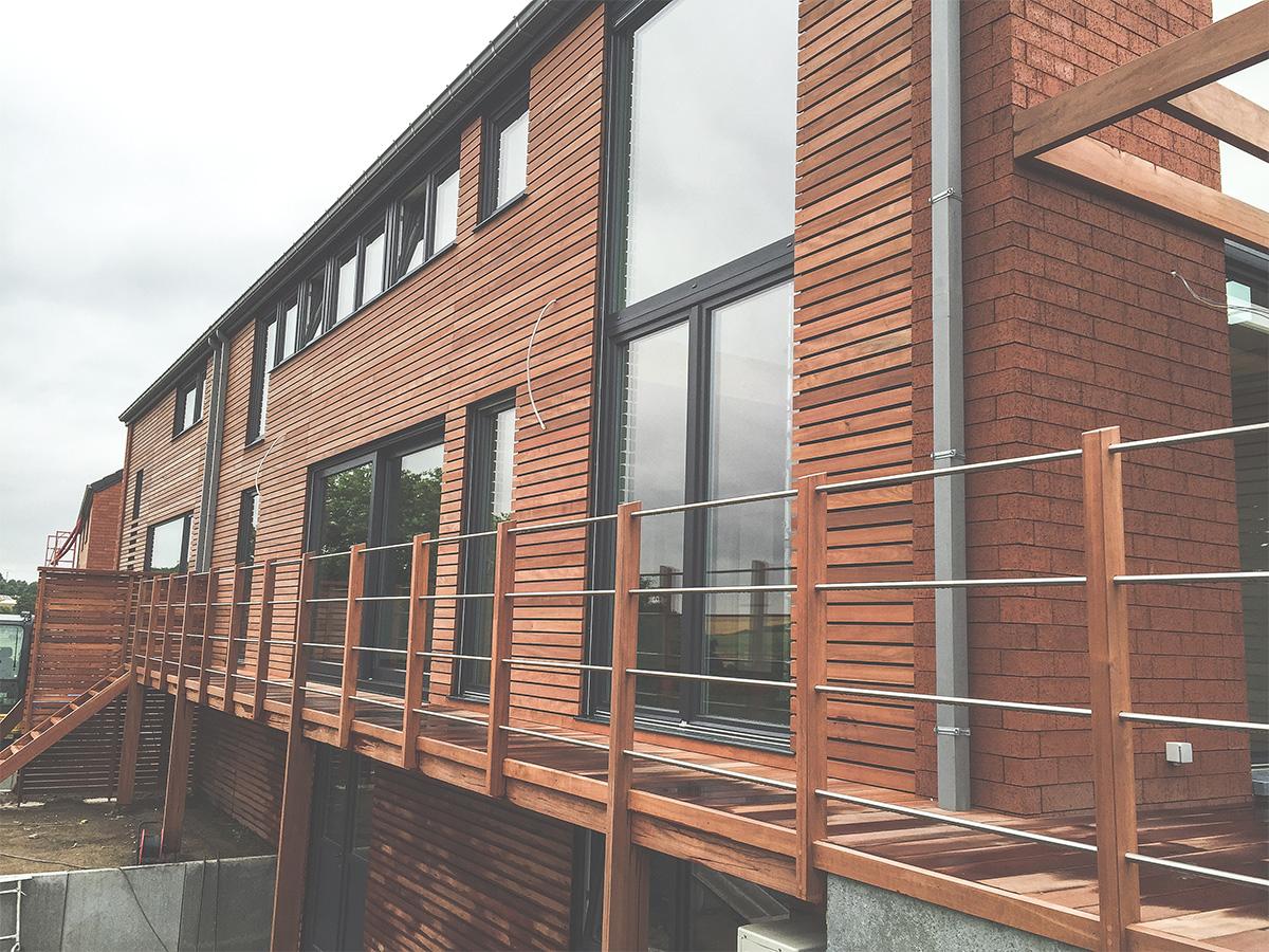 Promotion immobilière - Bonneville - Façade arrière - O'Wood Constructions