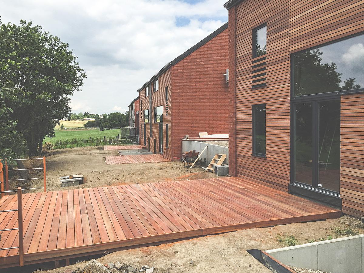 Promotion immobilière - Bonneville - Terrasses - O'Wood Constructions