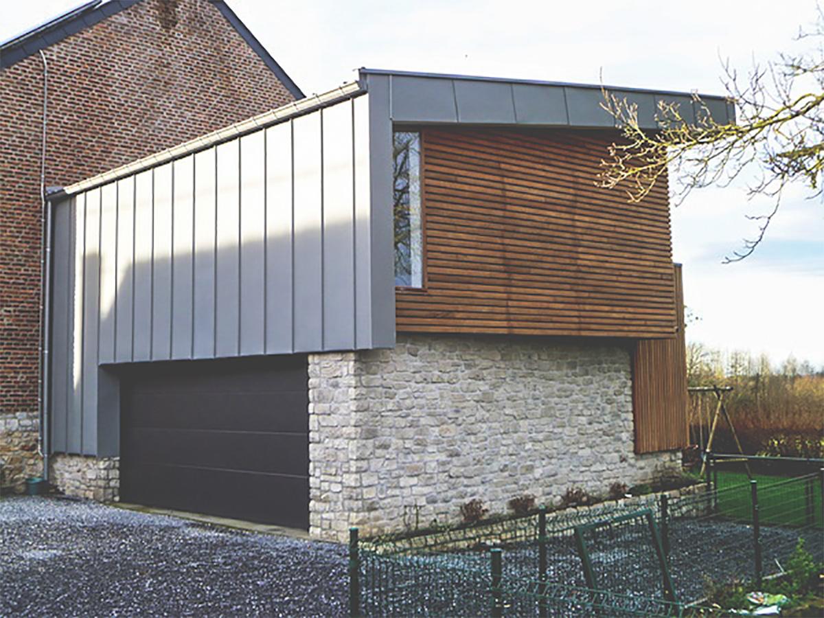 Extension et Rehausse - Illustration - Bardage2 - Owood Constructions